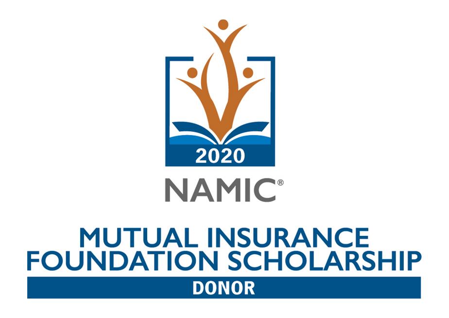 2020 NAMIC Mutual Insurance Foundation Scholarship Donor